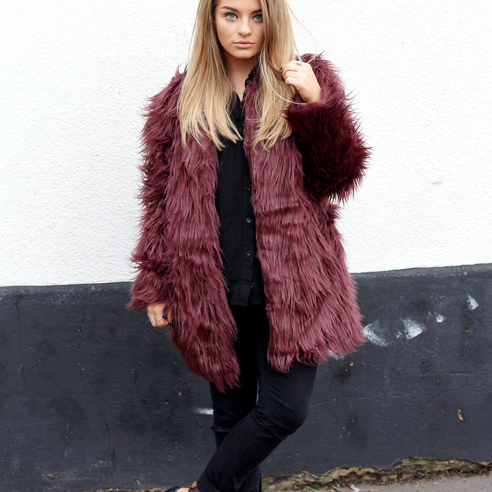 OOTD | Boohoo Faux Fur Part One